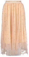 Lola Bead Embellished Tulle Midi Skirt