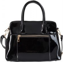 Borsa in vernice (Nero) - bpc bonprix collection