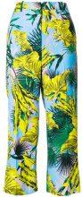 Versace - Pantaloni crop - women - Viscose/Cupro/Spandex/Elastane - 38, 46, 42 - MULTICOLOUR