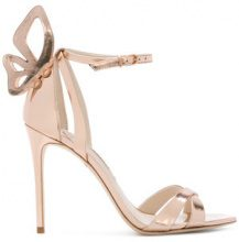 Sophia Webster - Madame Chiara sandals - women - Patent Leather/Leather - 35.5, 36, 36.5, 37.5, 38, 37, 38.5, 39, 40 - METALLIC