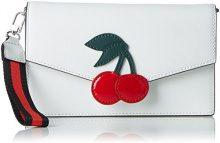 Tosca Blu Cherry - Borse a secchiello Donna, Weiß (White), 2x12x20 cm (B x H T)