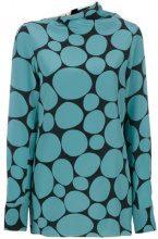 Marni - Top motivo mosaico - women - Silk - 40, 42, 44, 46 - GREEN