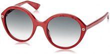 Gucci Occhiali da sole 0023S_005 (55 mm) Rojo, 55