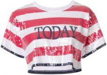 "Alberta Ferretti - T-shirt ""Today"" - women - Cotton/Polyester - XS, S, M, L - WHITE"