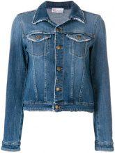 Red Valentino - Giacca in denim - women - Cotton/Spandex/Elastane - 40, 42, 44, 38 - BLUE