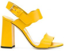 Marskinryyppy - Sandali con punta aperta - women - Leather - 36, 37, 37.5 - Giallo & arancio