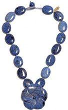 FASHIONNECKLACEBRACELETANKLET, colore: blu, cod. WENDY369000