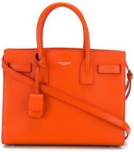 Saint Laurent - nano 'Sac de Jour' tote bag - women - Calf Leather - OS - YELLOW & ORANGE