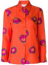 La Doublej - floral print shirt - women - Silk - S, M, L, XL - YELLOW & ORANGE