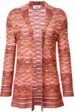 Missoni Vintage - Cardigan lavorato a maglia - women - Cotton/Acrylic/Viscose/Polyamide - 40 - YELLOW & ORANGE
