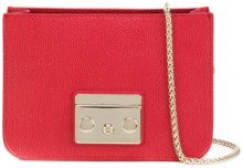 Furla - Borsa mini a spalla con catena - women - Calf Leather - OS - RED