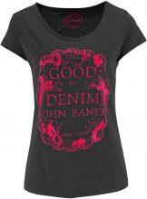 T-shirt stampata (Nero) - John Baner JEANSWEAR