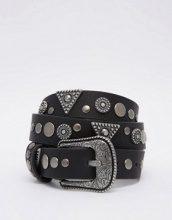 ASOS - Cintura per jeans con borchie multiple