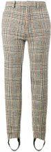 Y / Project - Pantaloni sartoriali con staffa - women - Wool/Polyamide/Spandex/Elastane - XS, S, M, L - NUDE & NEUTRALS