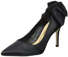 Buffalo London ZS 7794-16 Tecido Cetim, Scarpe con Tacco Donna, Nero (Black 01), 37 EU