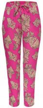 ONLY Printed Trousers Women Pink