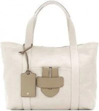 Tila March - Simple Bag L - women - Canvas/Leather - OS - NUDE & NEUTRALS