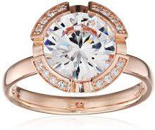 Thomas Sabo Glam & Soul, Donna, Anello, argento sterling 925 placcato oro rosa 18 carati