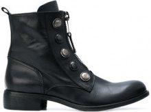 Strategia - Anfibi - women - Leather - 36, 37, 38, 39, 40 - BLACK