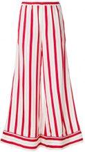 Scrambled_Ego - Pantaloni gamba ampia - women - Polyamide/Viscose - XS, S - RED