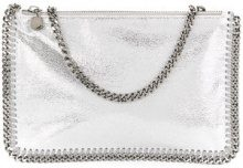 Stella McCartney - Clutch 'Falabella' - women - Polyester - OS - GREY