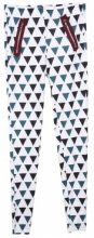 Leggings con fantasia a triangoli