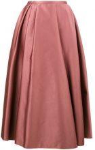 - Rochas - Gonna plissettata - women - fibra sintetica - 42 - di colore rosa