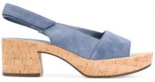 Hogl - Sandali con punta aperta - women - Leather/Suede/rubber - 37, 38, 39, 40 - BLUE