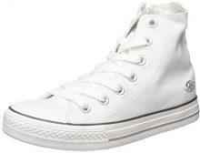 Dockers by Gerli 36ur211-710500, Sneaker a Collo Alto Donna, Bianco (Weiss 500), 39 EU