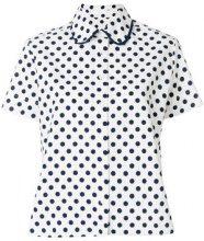 - Peter Jensen - Camicia con colletto peter pan - women - cotone - L - di colore bianco