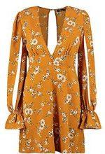 Rosalie Floral Split Sleeve Swing Dress