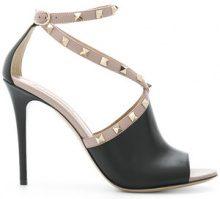 Valentino - Valentino Garavani Rockstud sandals - women - Leather - 35, 38, 38.5, 40 - BLACK