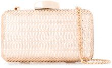 Inge Christopher - Nap clutch - women - polyurethane - OS - METALLIC