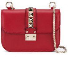 Valentino - Borsa Garavani Glam Lock - women - Leather/metal/Cotton - OS - RED