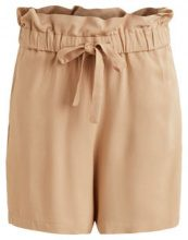 VILA High Waisted Shorts Women Beige