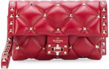 Valentino - Borsa Clutch - women - Leather - OS - Rosso