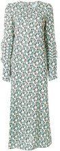 Marni - printed midi dress - women - Viscose - 40, 42 - NUDE & NEUTRALS