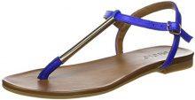 Inuovo Inuovo7162 - Scarpe Peep-Toe Donna, Blu (Blu Reale), 37 EU