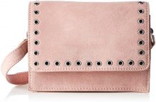 PIECES Pcneema Suede Cross Body - Borse a tracolla Donna, Pink (Rose Tan), 8x14x20 cm (B x H T)