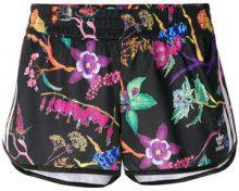 Adidas - Shorts running - women - Polyester - 34 - BLACK