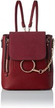 SwankySwans Tina Backpack Bag - Borse a tracolla Donna, Rosso (Burgundy), 11x23x21 cm (W x H x L)