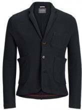 JACK & JONES Casual Sweat Blazer Men Black