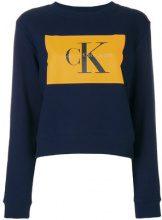 Calvin Klein Jeans - True Icon sweatshirt - women - Cotton - XS, S, M, L - BLUE