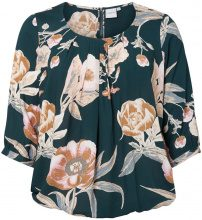 JUNAROSE Printed 3/4 Sleeved Blouse Women Green