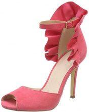 BIANCO BiancoFan Counter Sandal - Sandali con Tacco Donna, Rosa (Pink (Rasberry)), 39