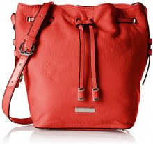 BulaggiClarice Bucket - Borse a Tracolla donna, rosso (Red (Red)), Taglia unica