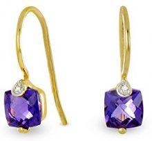 Tous mes bijoux Donna oro giallo 18 carati Ametista