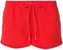 The Upside - Shorts sportivi stampati - women - Polyamide/Spandex/Elastane - XXS, XS, S, M, L, XL - RED