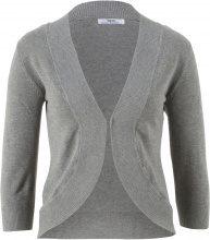 Bolero in maglia a mezza manica (Grigio) - bpc bonprix collection