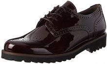 Gabor Shoes Comfort Sport, Scarpe Stringate Donna, Rosso (Merlot SS/c), 37.5 EU